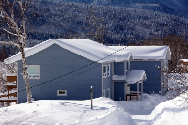 Pine View Lodge, Lodges at Humber Valley Resort, Winter