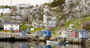 Fishing Stages, South West Coast, Western Newfoundland