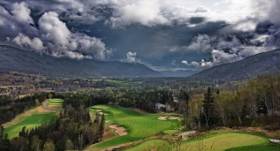 The Humber Valley from the Clubhouse, Humber Valley Resort