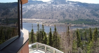 View from Club House, Humber Valley Resort