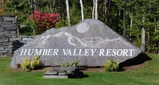 Resort Entrance, Humber Valley Resort