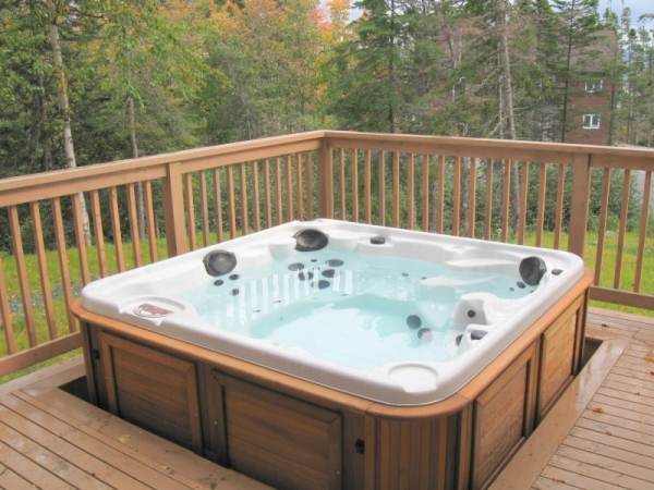 Hot Tub, Holiday Lodge, Humber Valley Resort