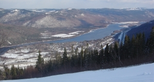 Humber Valley From Marble Mountain, Western Newfoundland