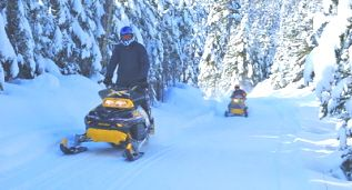 Snowmobile Trail, Western Newfoundland