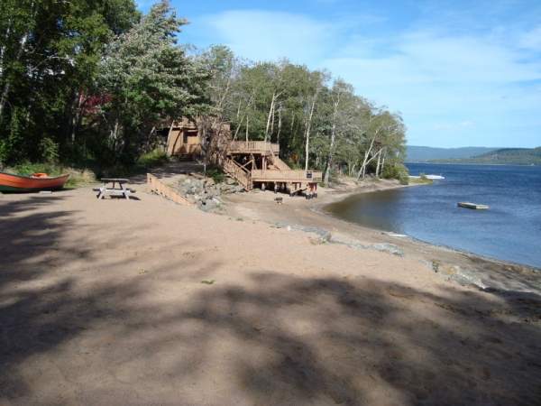 Beach, Looking towards Beach House, Humber Valley Resort