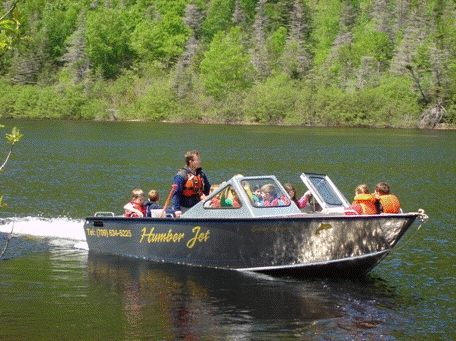 Humber Jet Boat Tour, Lower Humber River, Western Newfoundland