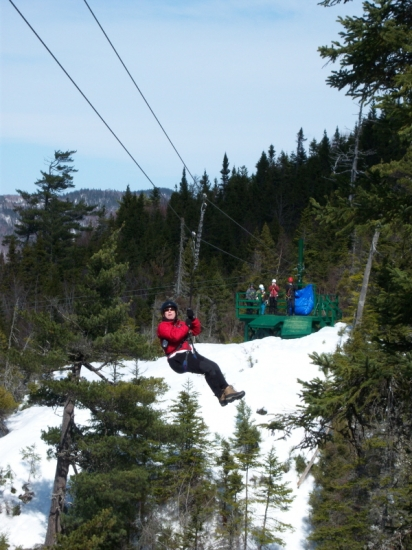 Marble Zip Line, Steady Brook, Humber Valley, Western Newfoundland