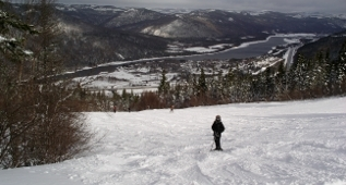 Skiing, Marble Mountain, Western Newfoundland